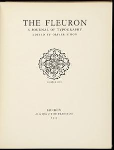The Fleuron (small)