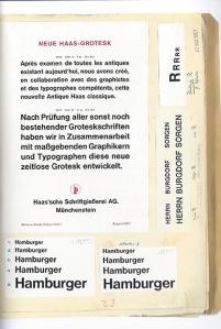 Eduard Hoffmanns Helvetica Notebook