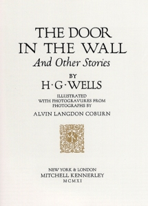Title page to The Door in the Wall