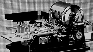 A 1930 model of the A. B. Dick Mimeograph