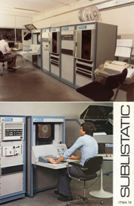 The first European installation of the Response 200 system for the textile industry in 1975