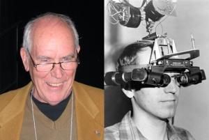 Recent photo of Ivan Sutherland; he invented the first head-mounted display at MIT in 1966