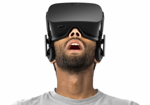 Promotional image for Oculus Rift VR headset