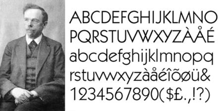 Rudolf Koch, Kabel, 1927