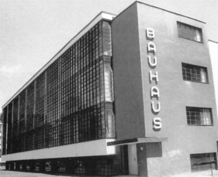 The Bauhaus School, founded in 1919 in Weimar, Germany, was dedicated to the expansion of the modernist esthetic