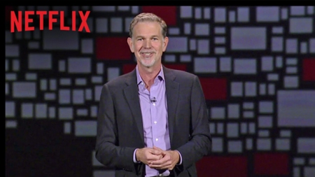 Reed Hastings, CEO of Netflix announcing the global expansion of the streaming video service on January 6