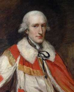Portrait of the young Lord Stanhope