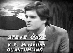 Steve Case in 1987 before the founding of America Online
