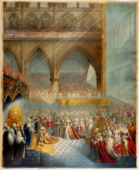 The Coronation of Queen Victoria and the Opening of Parliament (1842)