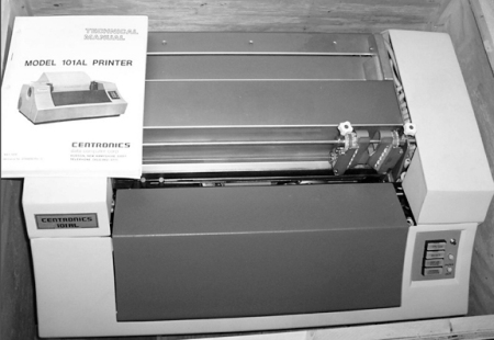 Model 101 Centronics Dot Matrix Printer